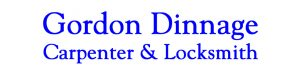 Gordon Dinnage - Carpenter & Locksmith logo